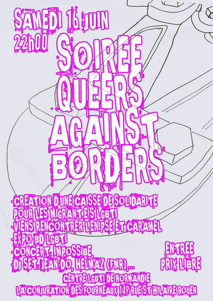 Soiree queer against borders