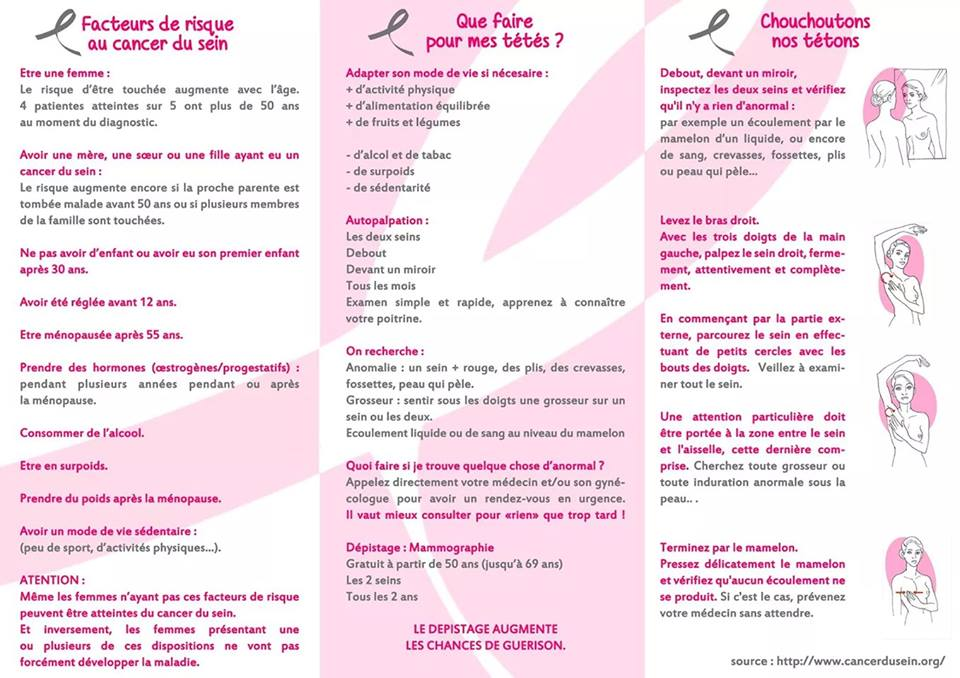 Triptique octobre rose 2